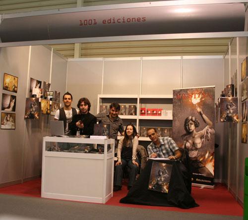 1001 en la Feria del libro de Cuenca 2009