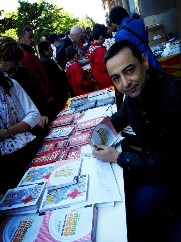 Juan Revenga Día del Libro